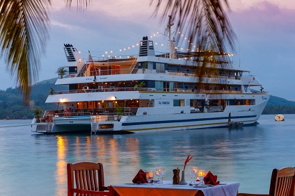 Fiji Princess, Escape to Paradise ex Port Denarau Return