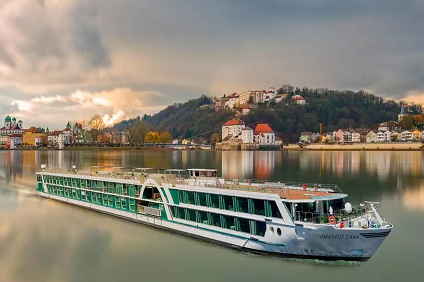 Amadeus Cara, 1200 Miles On The Beautiful Blue Danube ex Vienna to Bucharest
