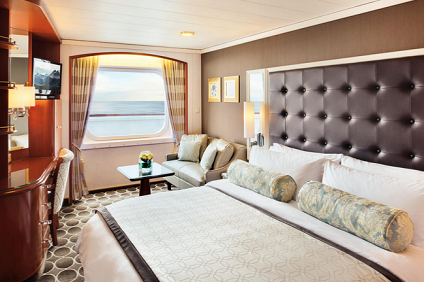 C2 - Deluxe Oceanview Stateroom Limited View