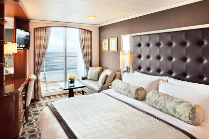 B3 - Deluxe Stateroom with Veranda Forward