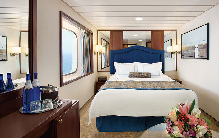 E - Oceanview Stateroom (Obstructed Views)