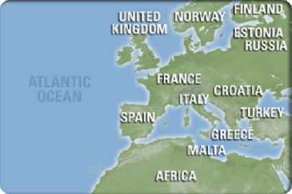 EU West & Atlantic Islands