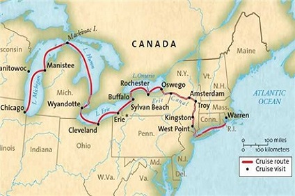 North America Rivers