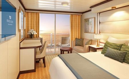 D4 - Premium Deluxe Balcony Stateroom