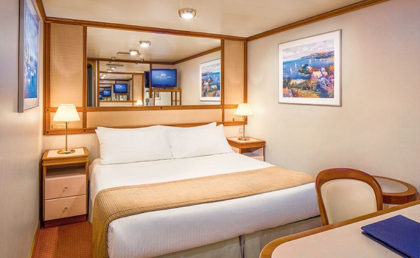 Cat IA - Interior Stateroom