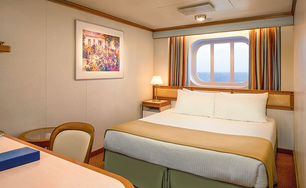 Cat OF - Oceanview Stateroom