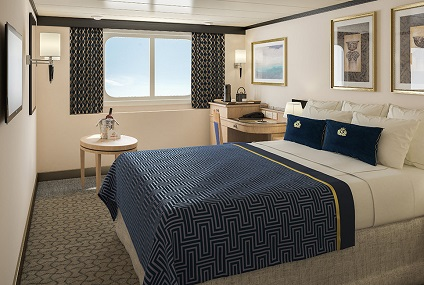 KC - Britannia Oceanview Stateroom Single