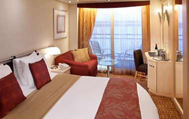 1A - Deluxe Oceanview Stateroom with Verandah