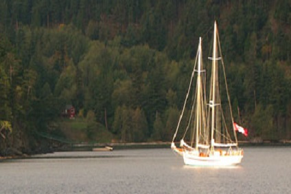 92 foot Schooner Maple Leaf